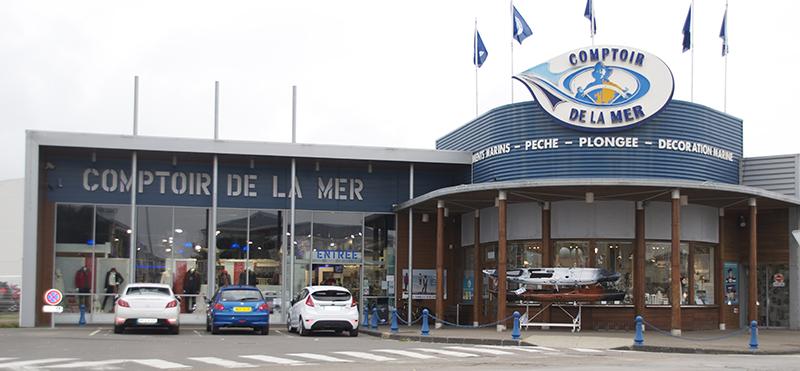 Le magasin des Sables d'Olonne Comptoir de la mer Vendée